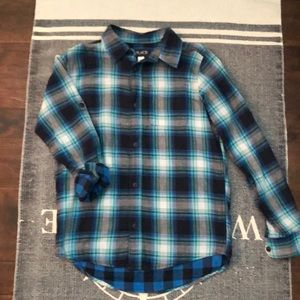 Boy's Long Sleeve Button-up Shirt